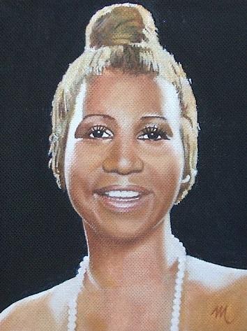 Aretha Franklin by mario